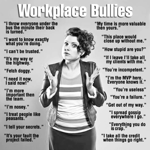 What Bullies Say